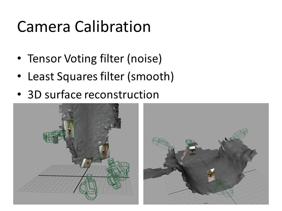 Camera Calibration Tensor Voting filter (noise)