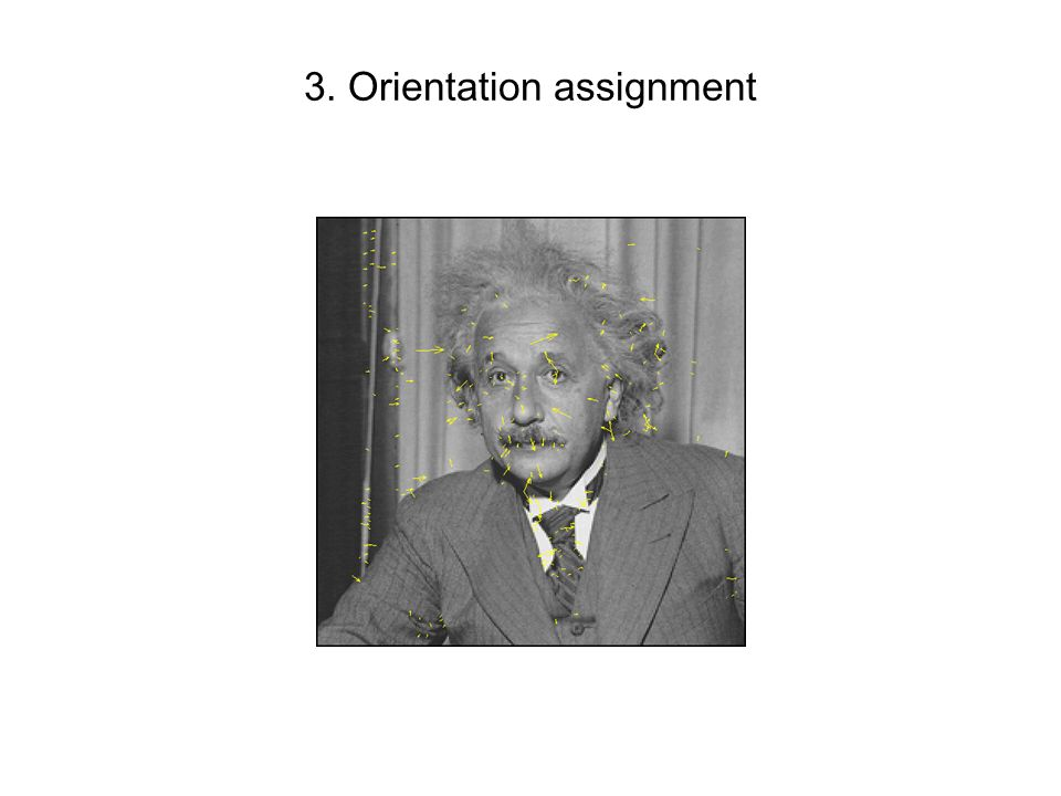 3. Orientation assignment
