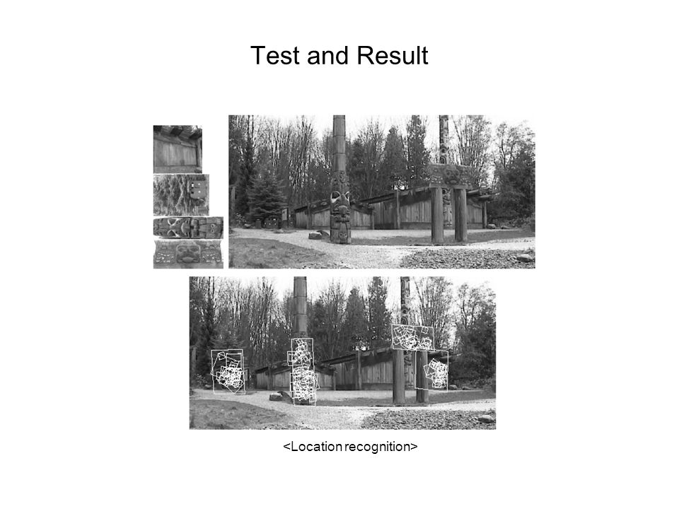 Test and Result <Location recognition>
