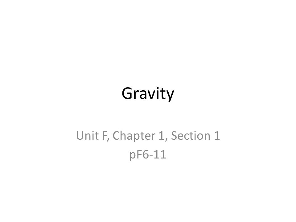 Unit F, Chapter 1, Section 1 pF6-11