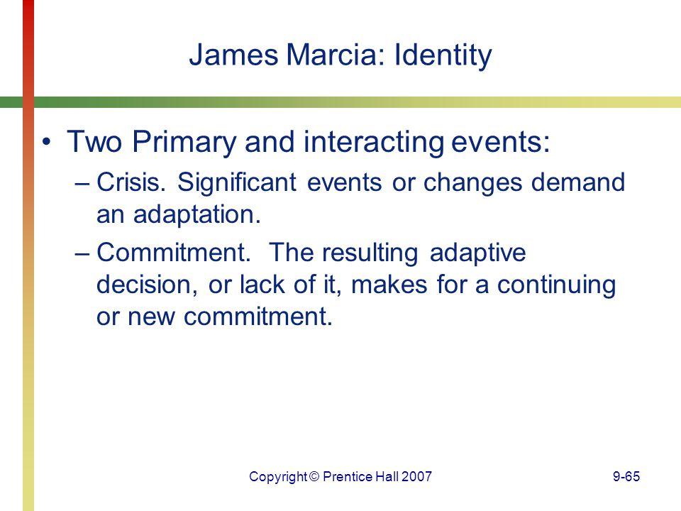 James Marcia: Identity