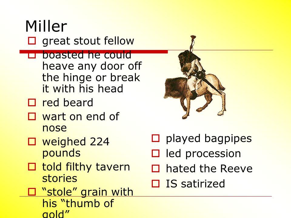 Miller great stout fellow