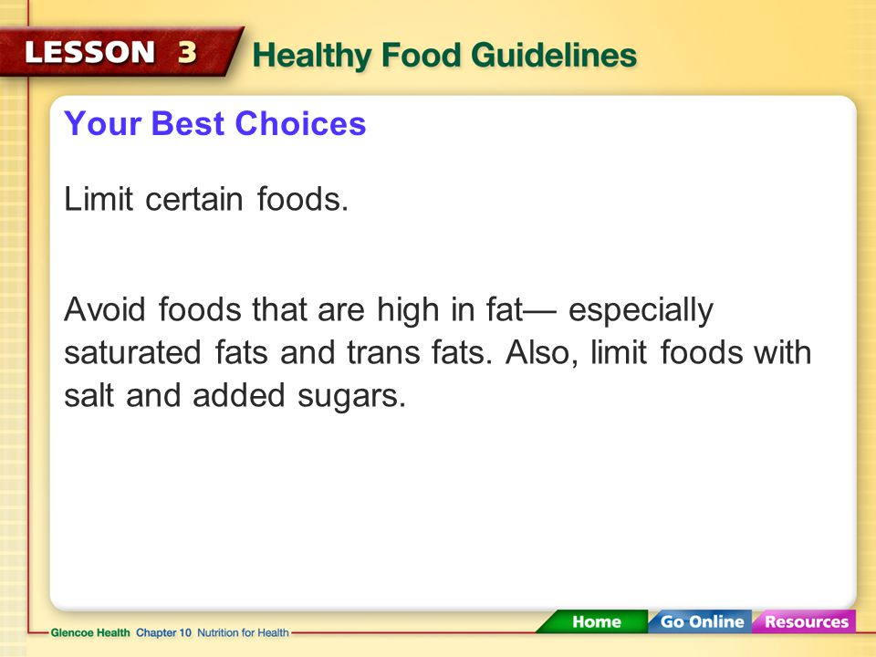 Foods High In Added Sugars And Saturated Fats Are