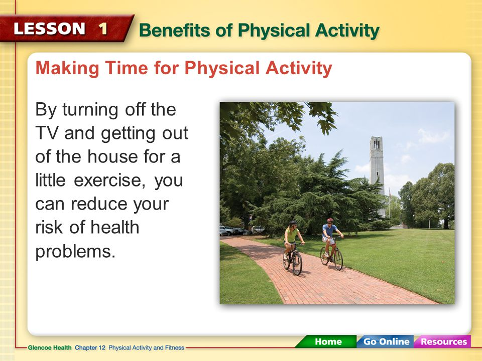 Making Time for Physical Activity