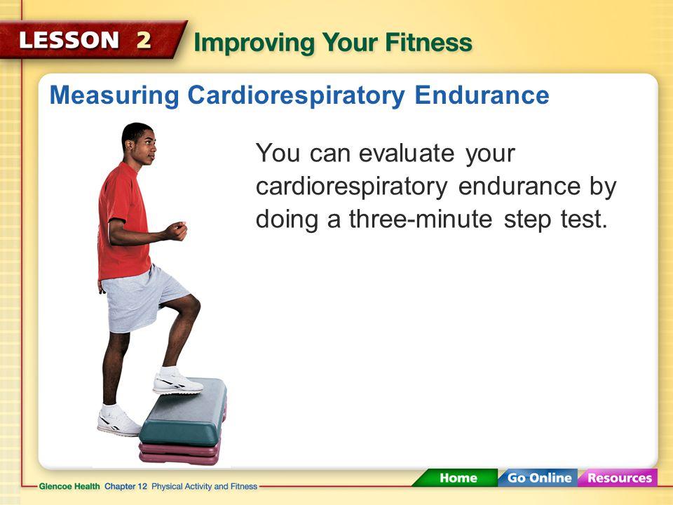 Measuring Cardiorespiratory Endurance