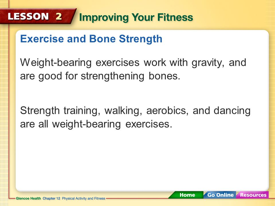 Exercise and Bone Strength