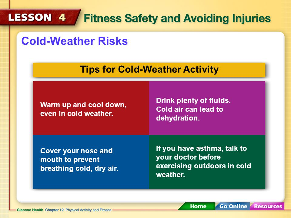 Tips for Cold-Weather Activity