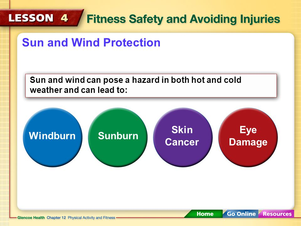 Sun and Wind Protection