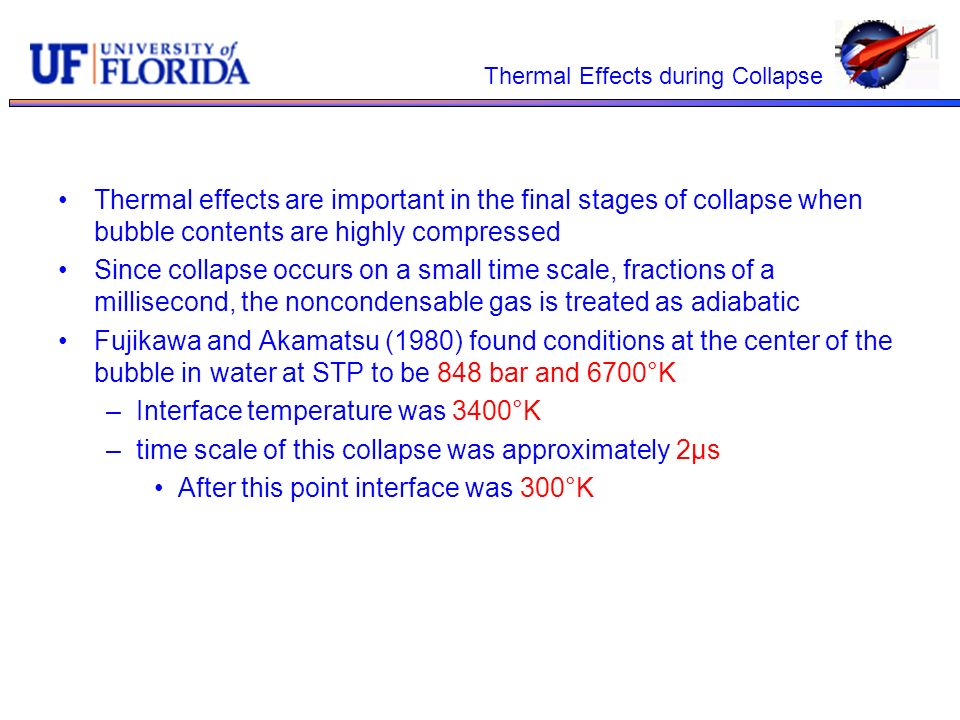 Thermal Effects during Collapse