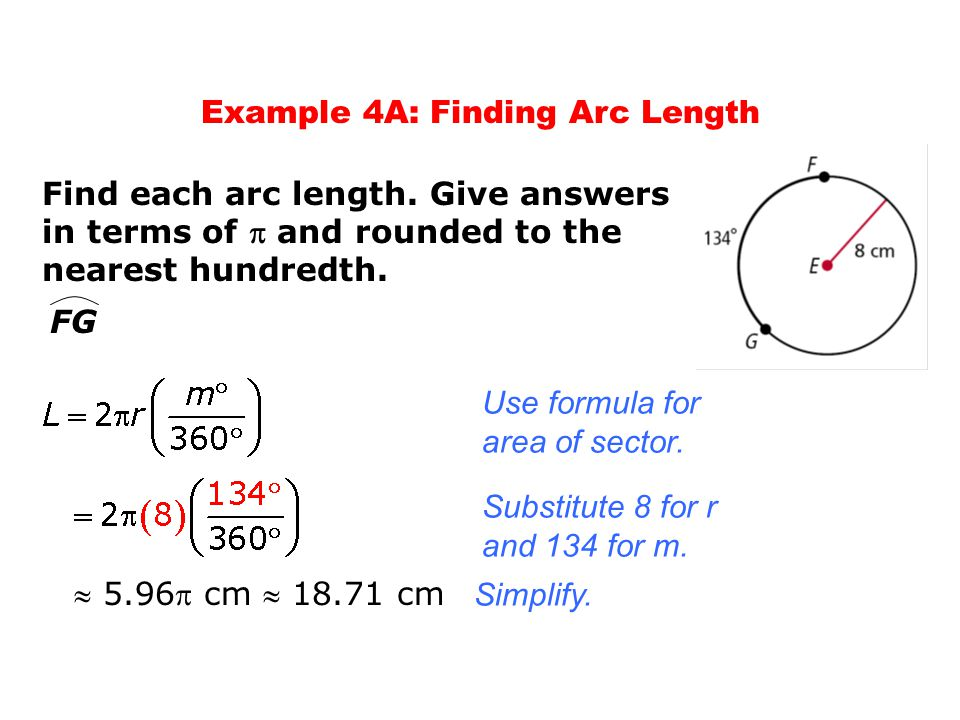 how to find the arc length of a semicircle calculator