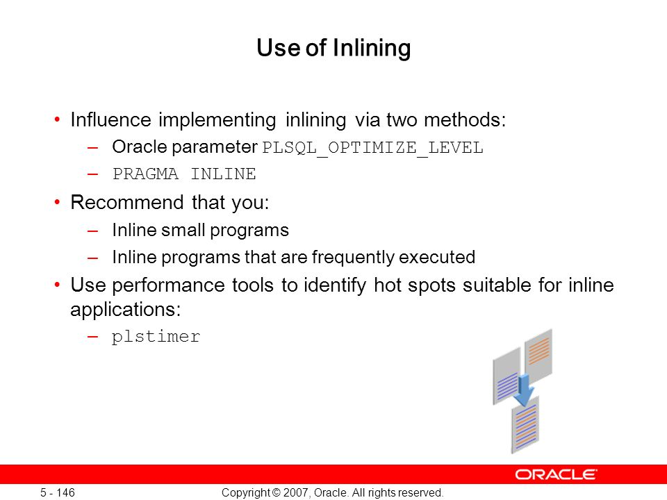 Oracle Database 11g: SQL and PL/SQL New Features 1 - 146