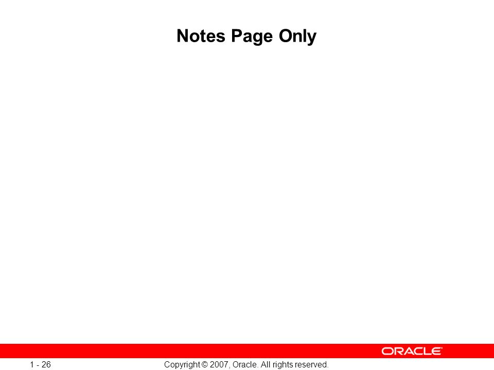 Oracle Database 11g: SQL and PL/SQL New Features 1 - 26