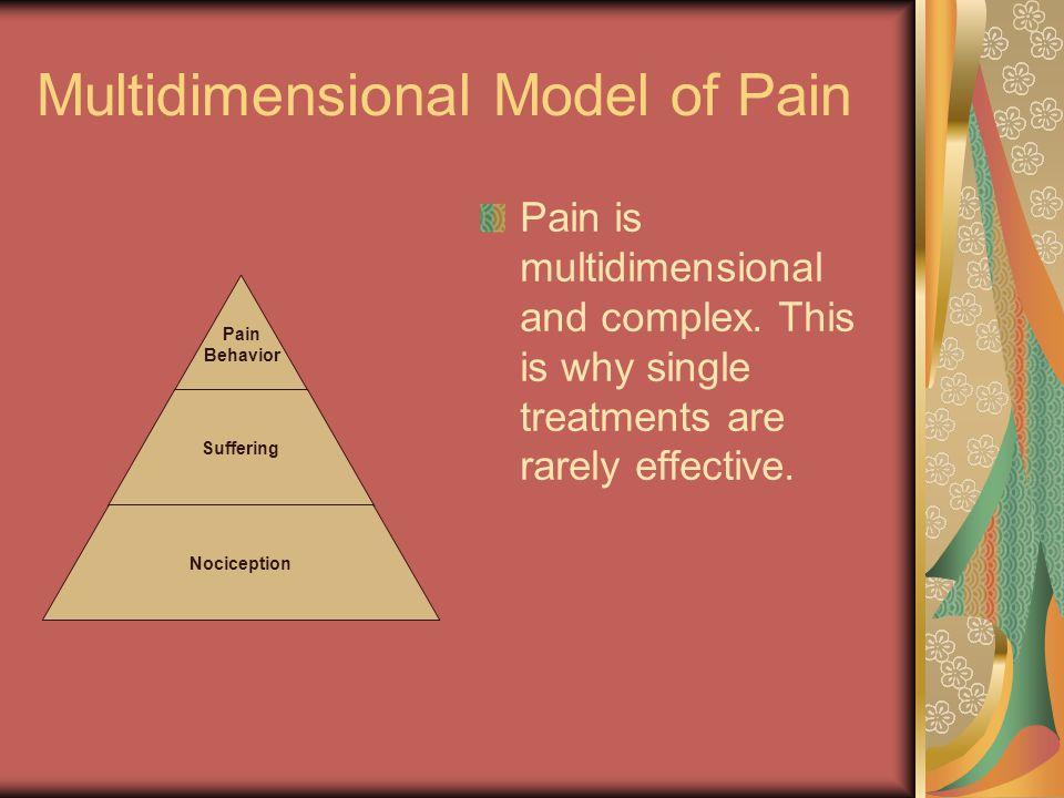 Multidimensional Model of Pain