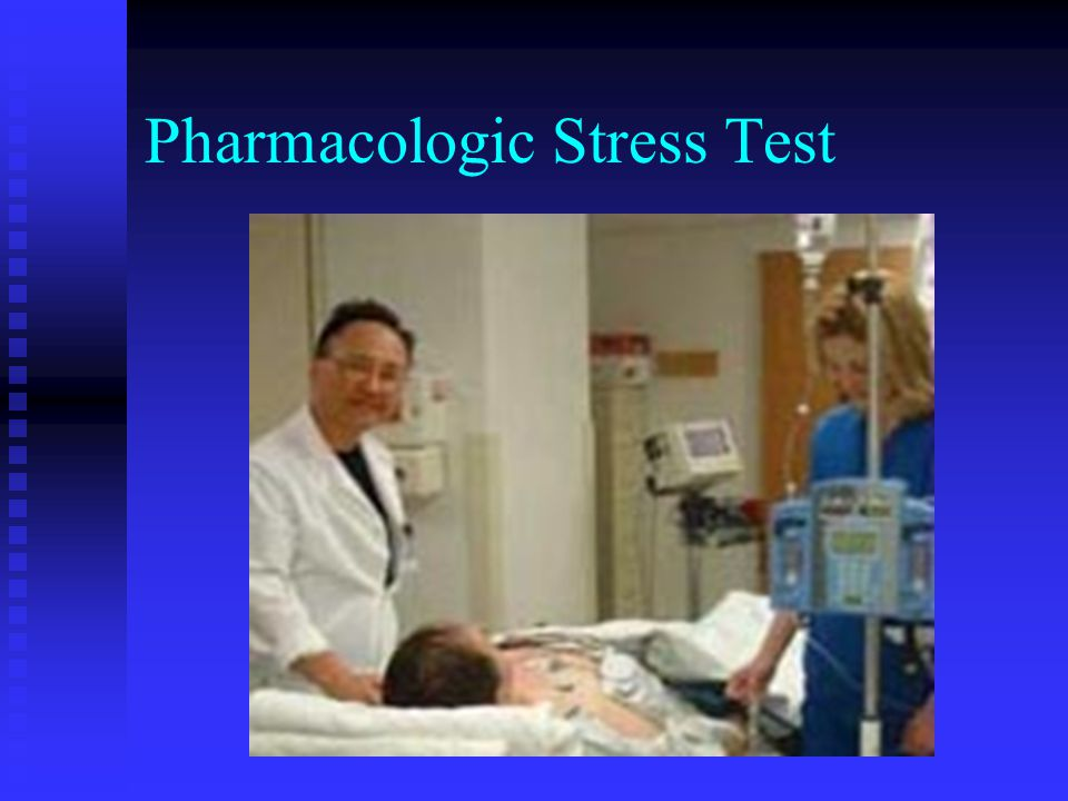 Pharmacologic Stress Test