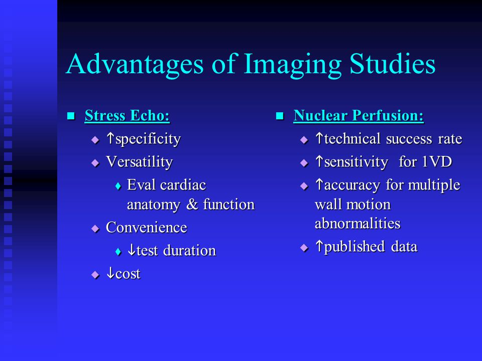 Advantages of Imaging Studies