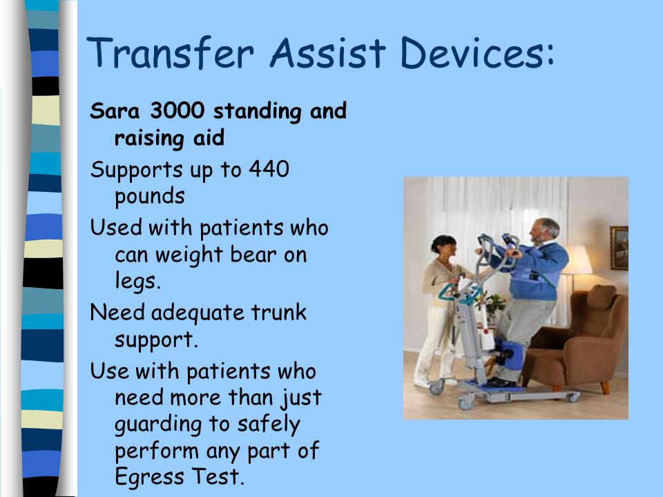 Transfer Assist Devices: