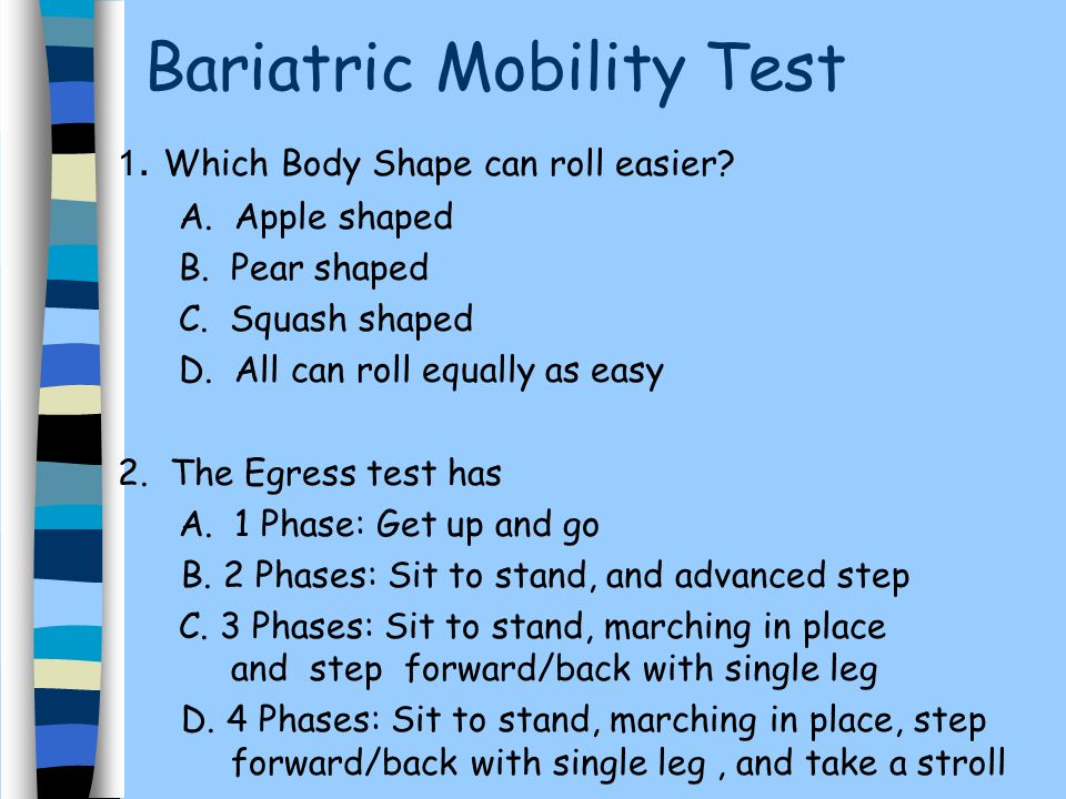 Bariatric Mobility Practical Considerations For Maximizing