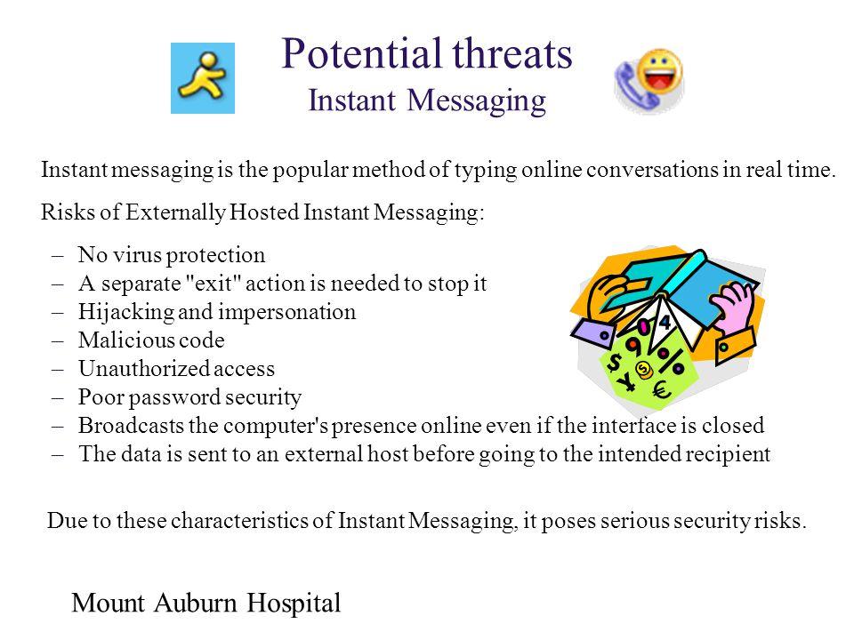 Potential threats Instant Messaging
