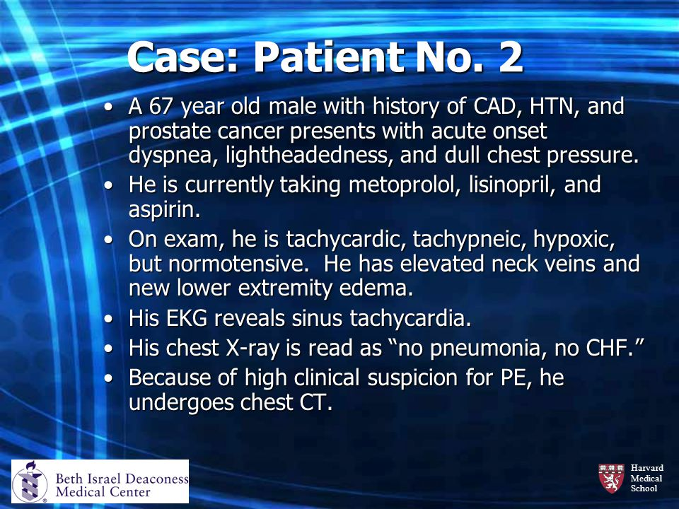 Case: Patient No. 2