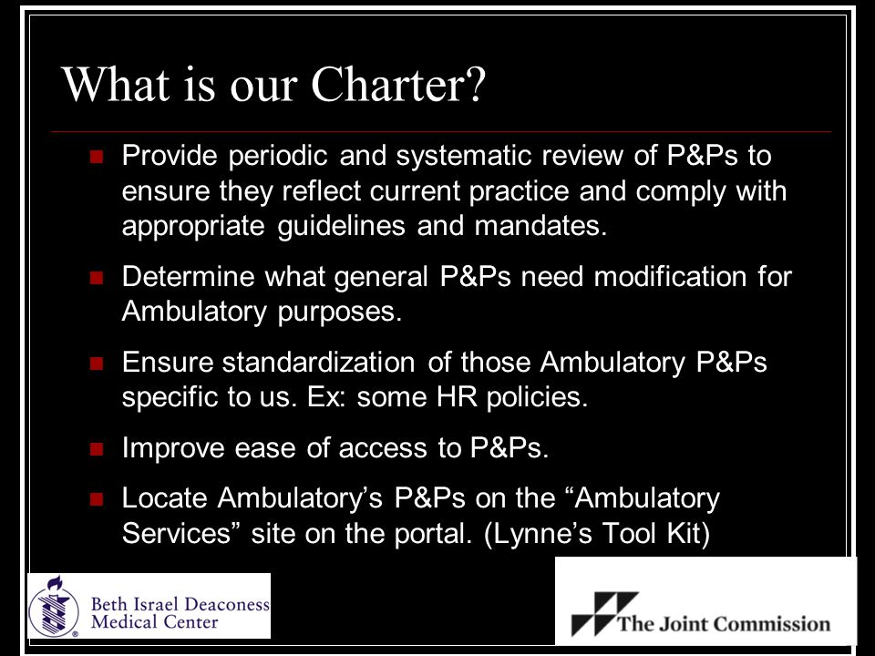 What is our Charter