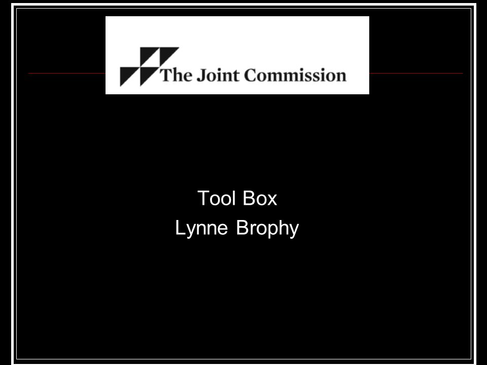 Tool Box Lynne Brophy