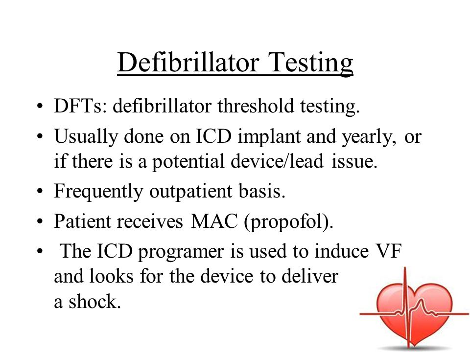 Defibrillator Testing