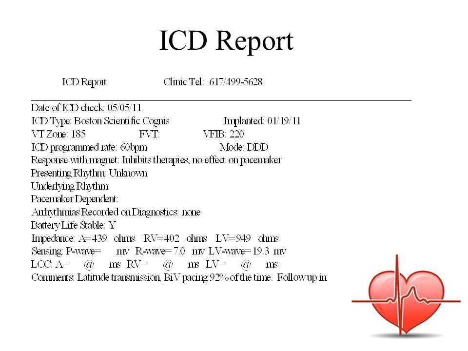 ICD Report