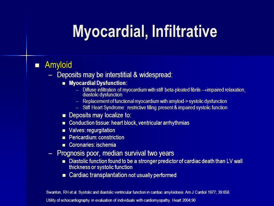 Myocardial, Infiltrative