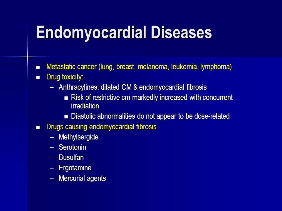 Endomyocardial Diseases