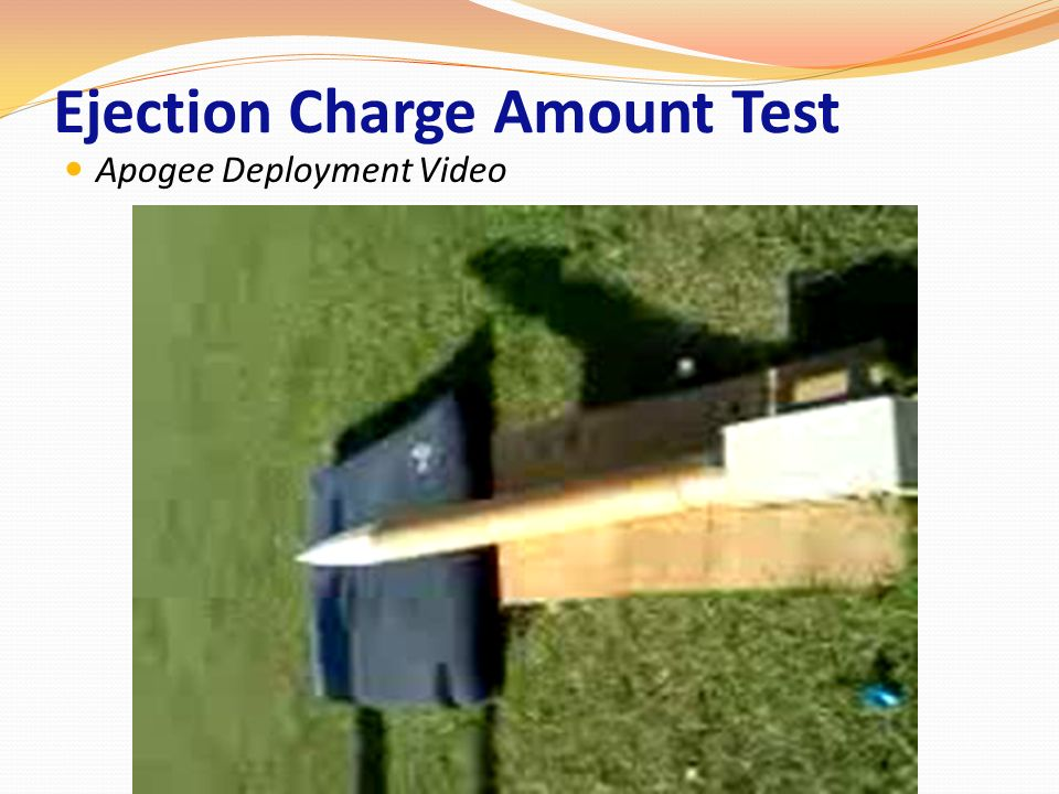 Ejection Charge Amount Test