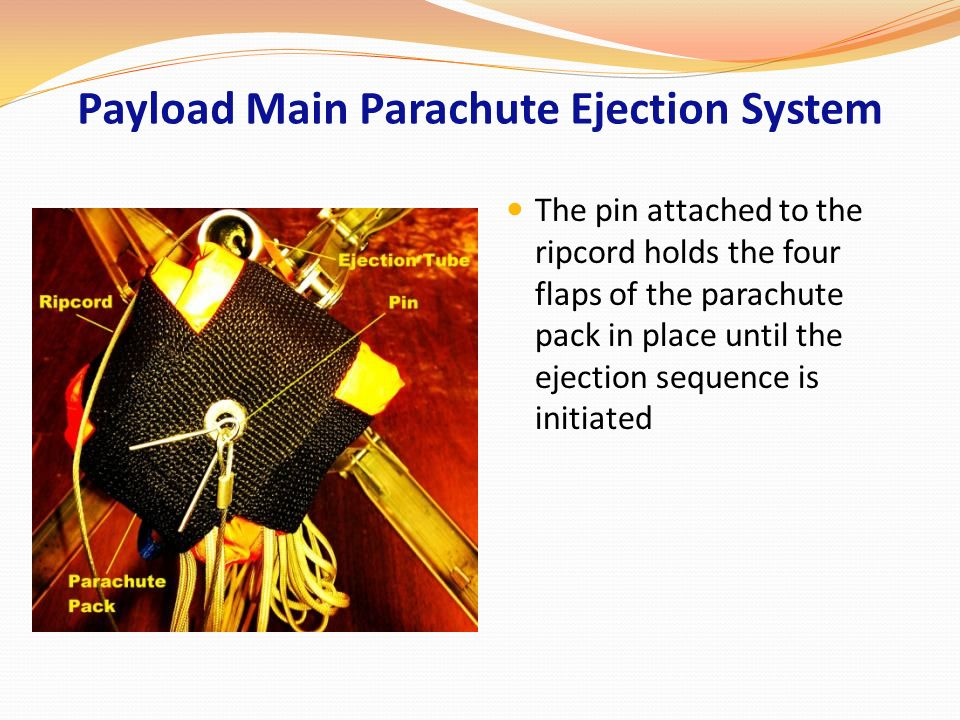 Payload Main Parachute Ejection System