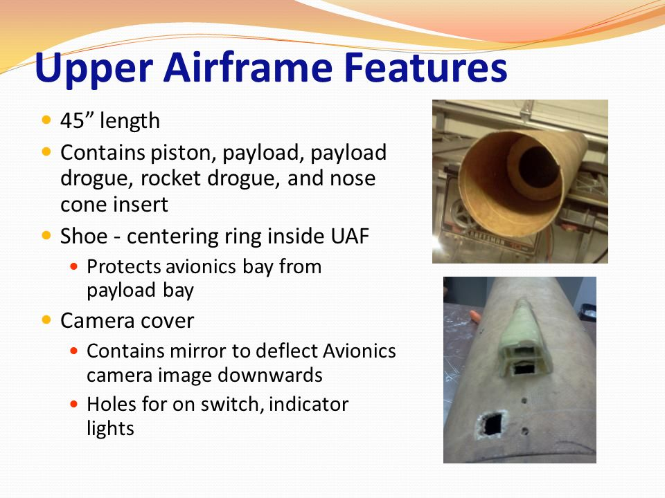 Upper Airframe Features
