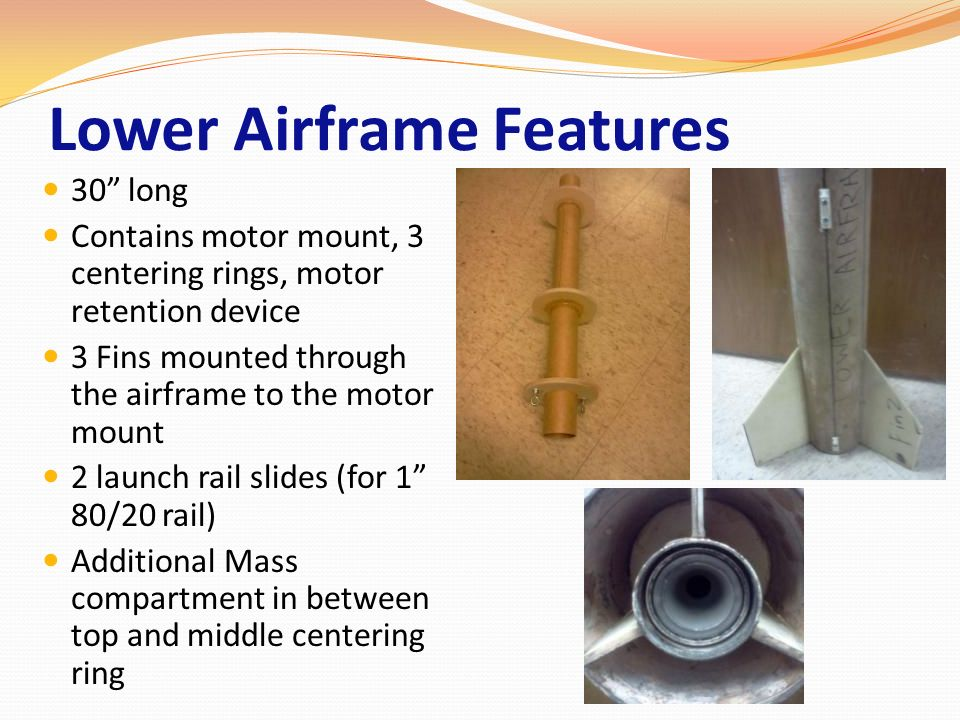 Lower Airframe Features
