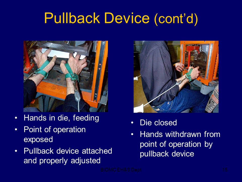Pullback Device (cont'd)