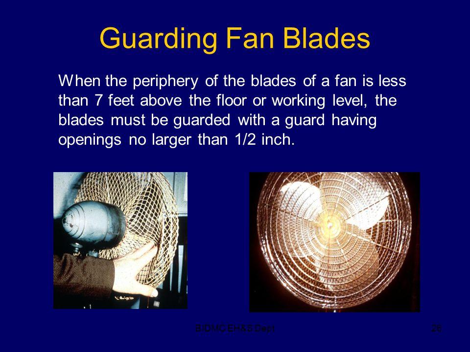Guarding Fan Blades