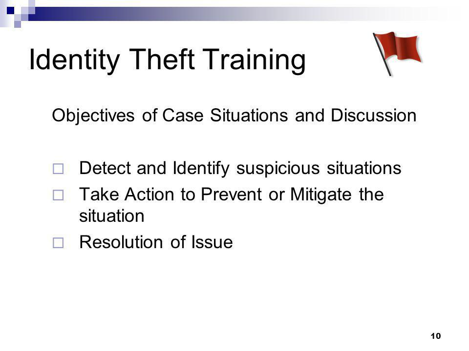 Identity Theft Training