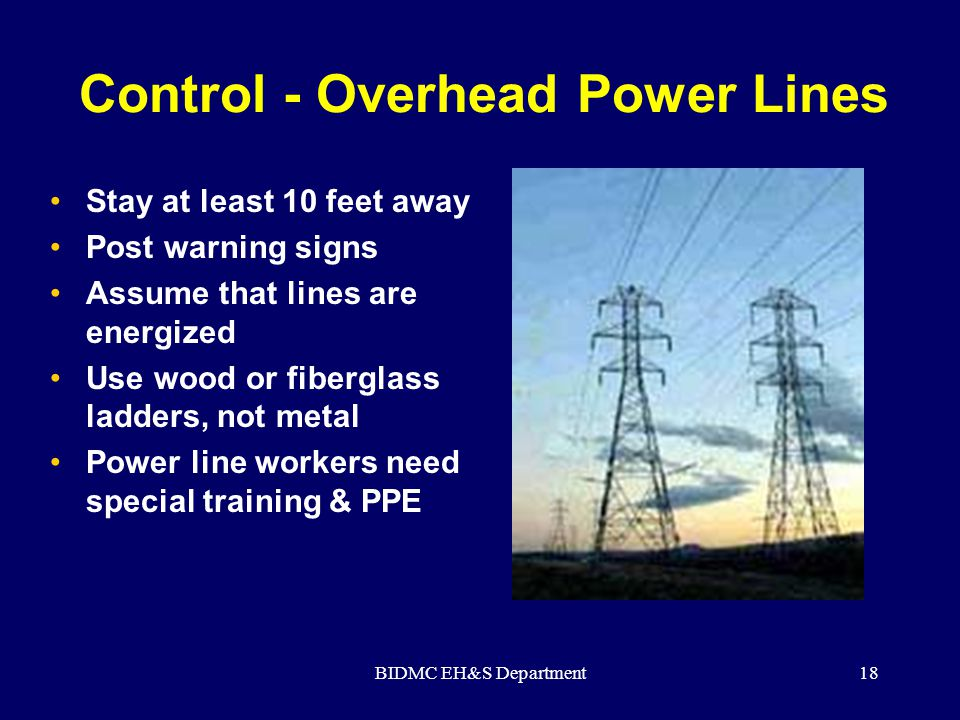 Control - Overhead Power Lines