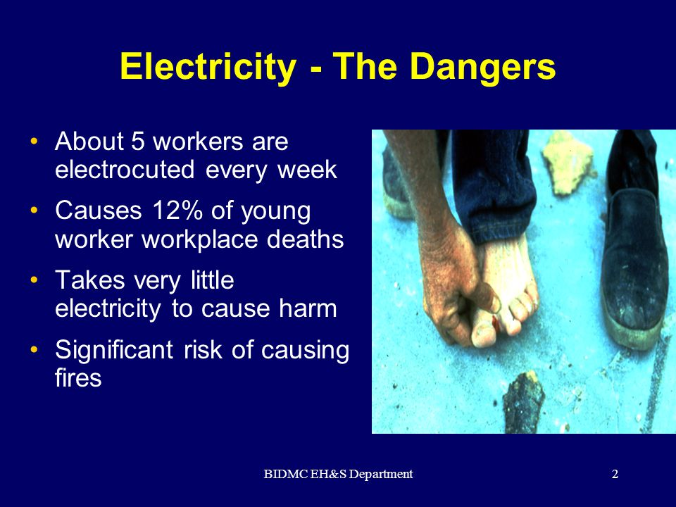 Electricity - The Dangers