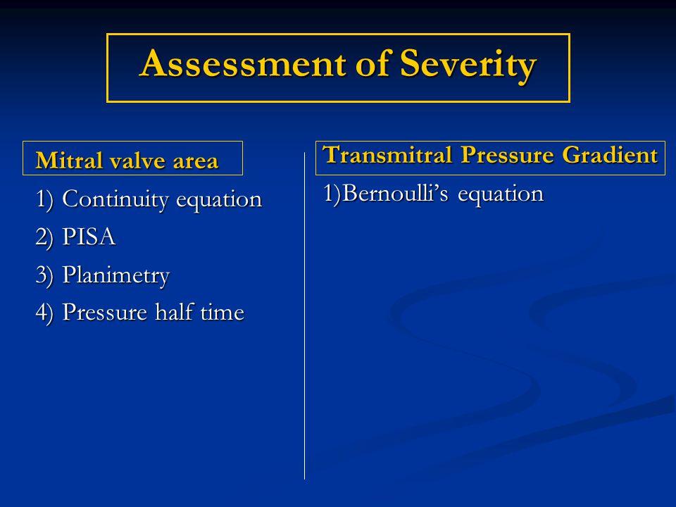 Assessment of Severity