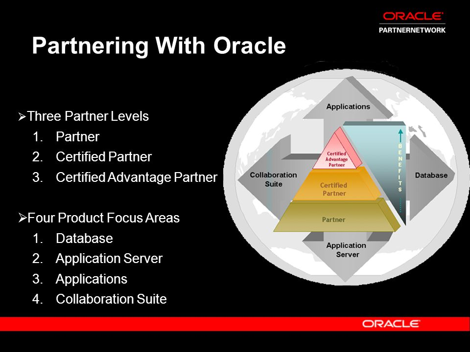 Partnering With Oracle
