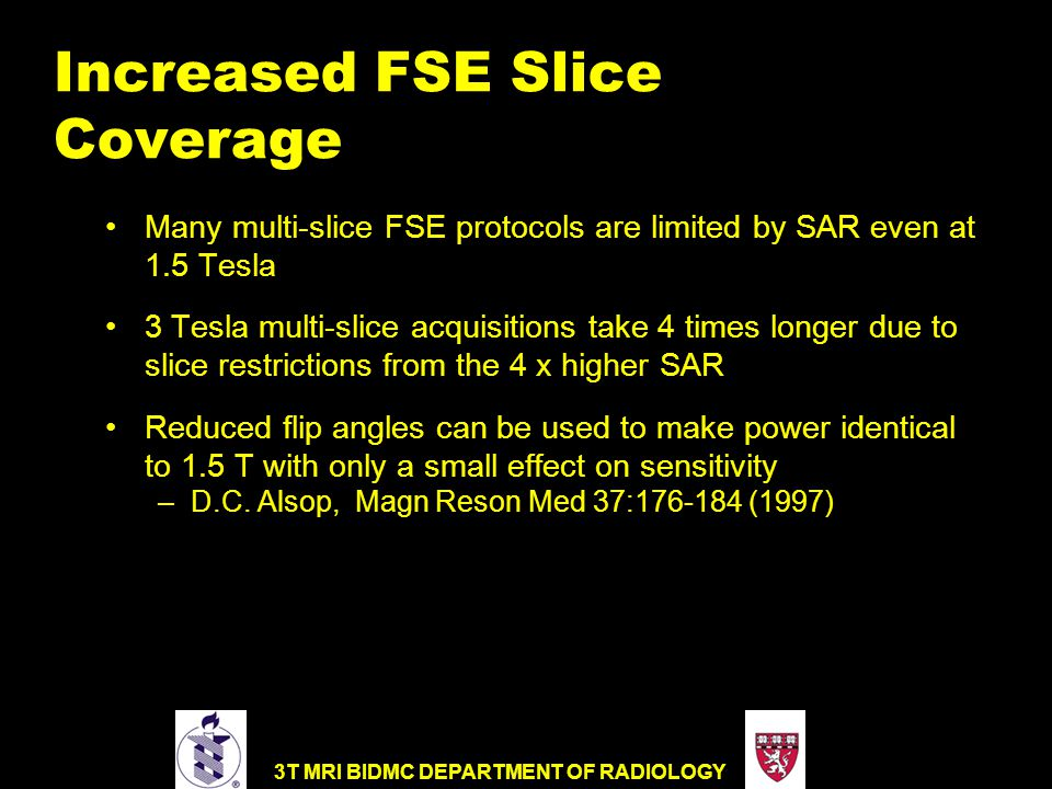 Increased FSE Slice Coverage