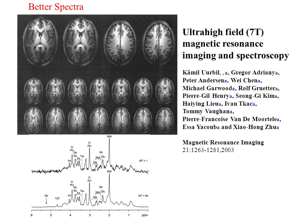 imaging and spectroscopy