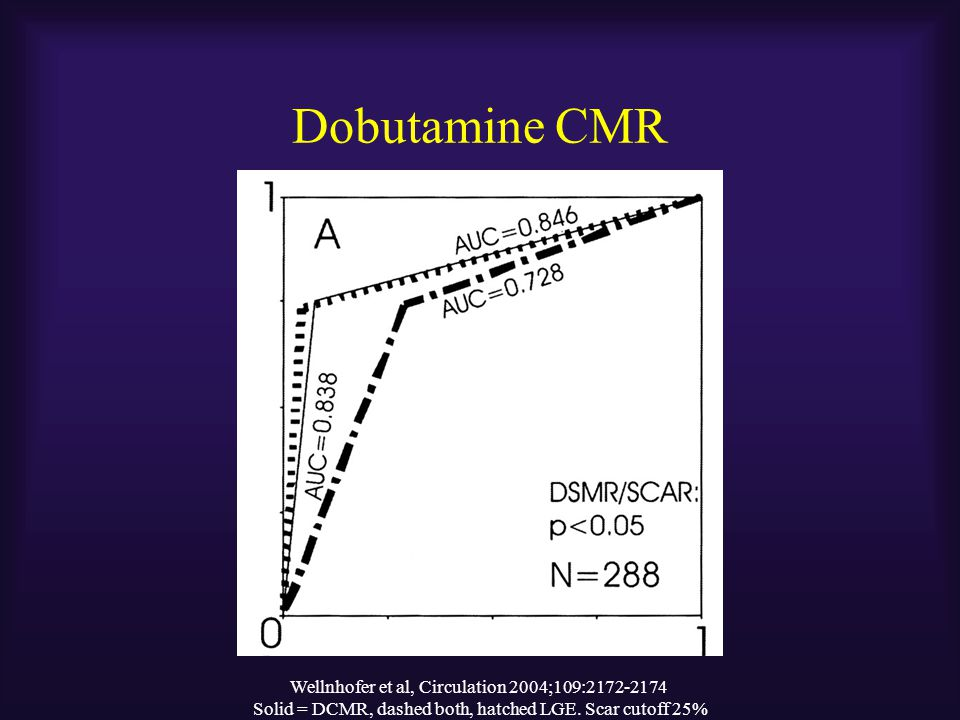 Dobutamine CMR Wellnhofer et al, Circulation 2004;109:2172-2174