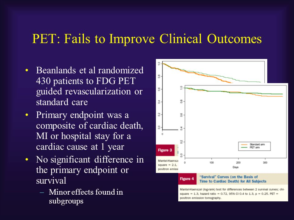 PET: Fails to Improve Clinical Outcomes