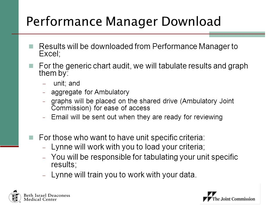 Performance Manager Download