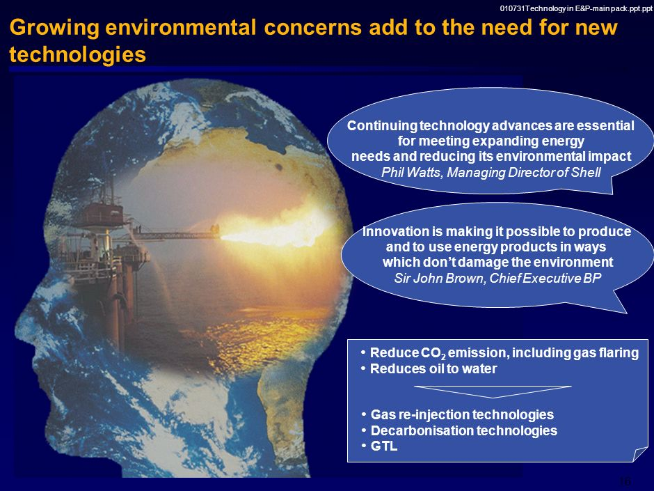 Overconsumption the major environmental concern of