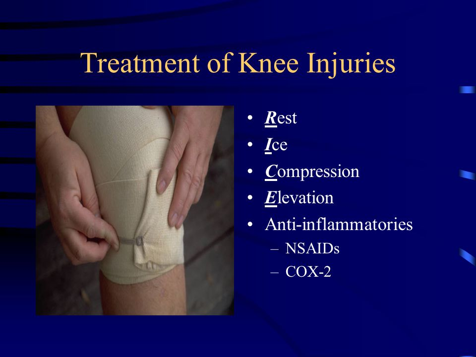 Treatment of Knee Injuries