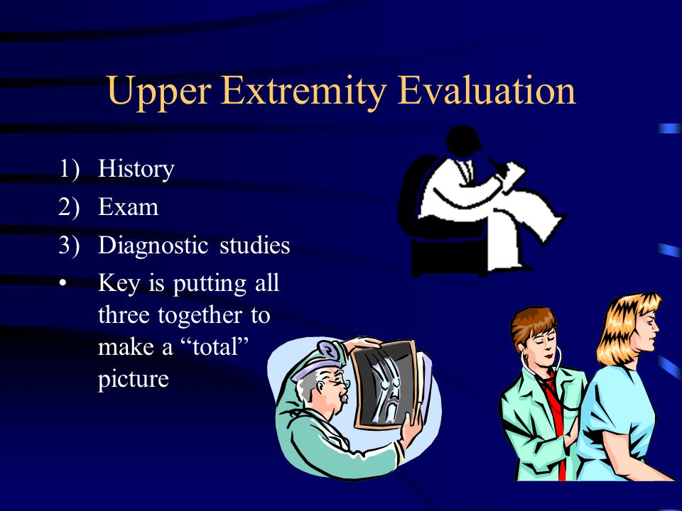 Upper Extremity Evaluation