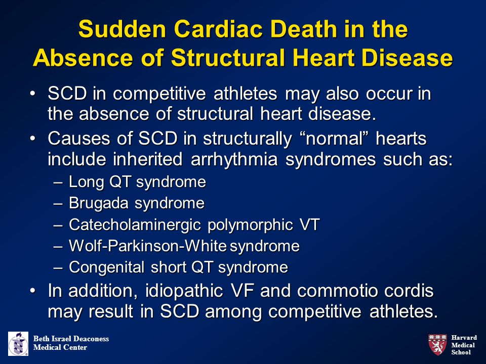 Sudden Cardiac Death in the Absence of Structural Heart Disease