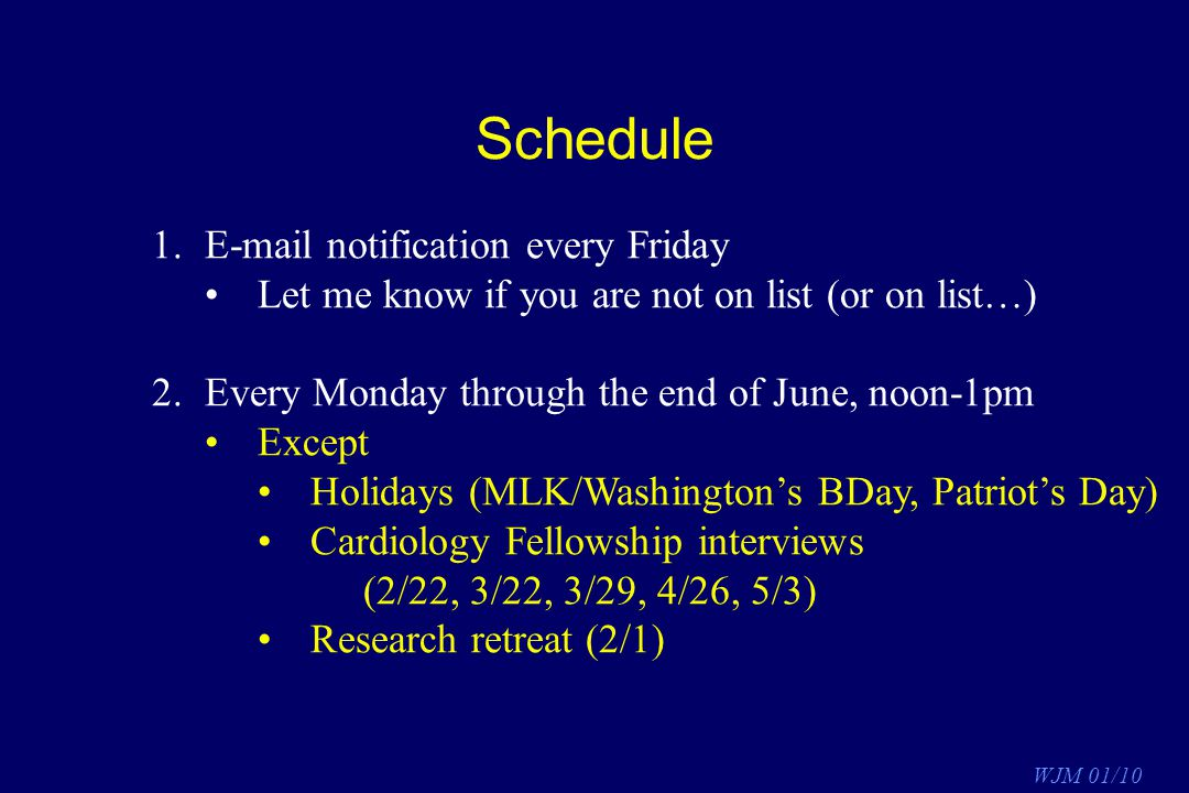 Schedule E-mail notification every Friday
